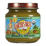 0023923300378 - BABY FOODS SPINACH & POTATOES