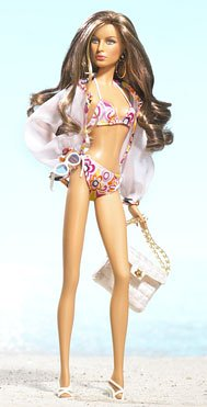 0027084185508 - BARBIE MODEL OF THE MOMENT: MARISA BEACH BABY DOLL