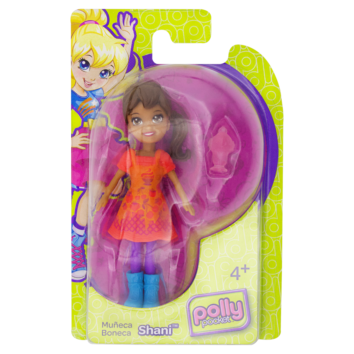 0027084440409 - BONECA SHANI POLLY POCKET