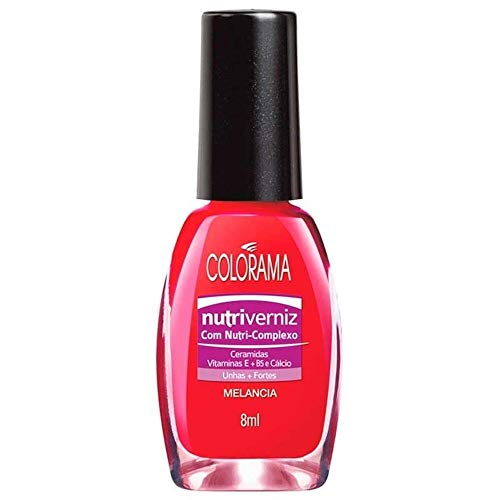 27899026425952 - ESMALTE CREMOSO MELANCIA COLORAMA 8ML