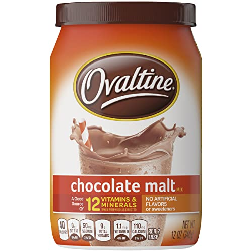 0028000294304 - NESTLE OVALTINE CHOCOLATE MALT, 12-OUNCE TUBS (PACK OF 6)