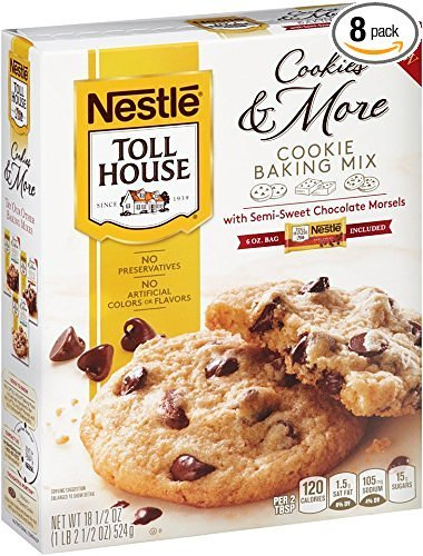 0028000432300 - NESTLE TOLL HOUSE COOKIES AND MORE COOKIE BAKING MIX