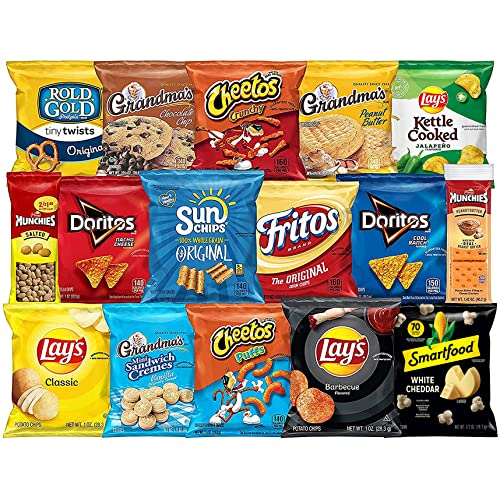 0028400486903 - FRITO-LAY ULTIMATE CLASSIC SNACKS PACKAGE, VARIETY ASSORTMENT OF CHIPS, COOKIES, CRACKERS, & NUTS (40 PACK)
