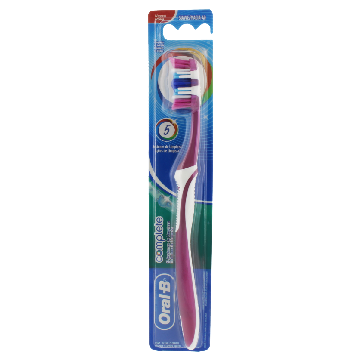 3014260014414 - ESCOVA DENTAL MACIA ORAL-B COMPLETE