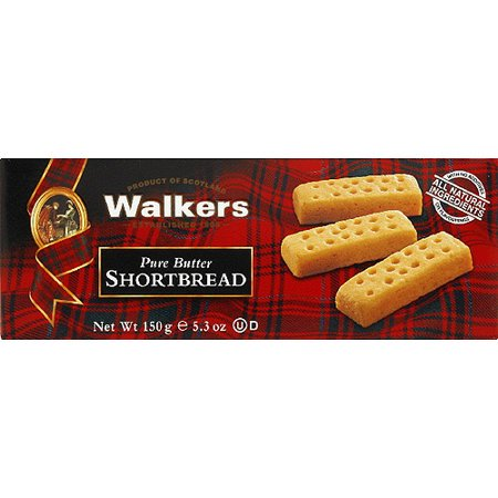 0030684332180 - WALKERS PURE BUTTER SHORTBREAD, 5.3 OZ, (PACK OF 12)