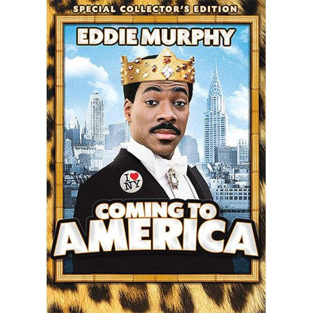 0032429256669 - COMING TO AMERICA (DVD)