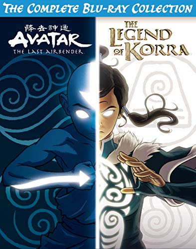 0032429330031 - AVATAR & LEGEND OF KORRA COMPLETE SERIES COLLECTION