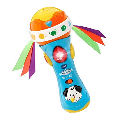 3417761854006 - VTECH BABY BABBLE AND RATTLE MICROPHONE