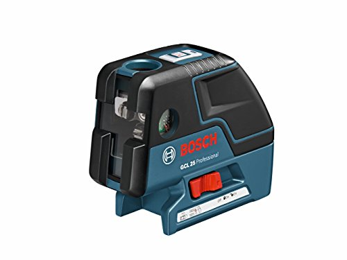 0000346465723 - BOSCH GCL 25 SELF LEVELING 5-POINT ALIGNMENT LASER WITH CROSS-LINE AND L-BOXX STORAGE CASE