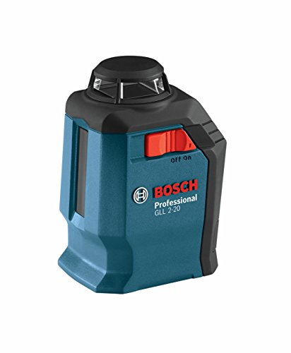 0000346466713 - BOSCH GLL 2-20 360-DEGREE SELF-LEVELING LINE AND CROSS LASER