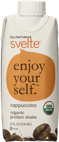 0035844148007 - CALNATURALE SVELTE ORGANIC PROTEIN SHAKE, CAPPUCCINO, 11 OUNCE (PACK OF 8)