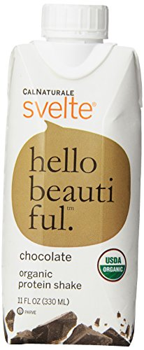 0035844148021 - CALNATURALE SVELTE ORGANIC PROTEIN SHAKE, CHOCOLATE, 11 OUNCE (PACK OF 8)