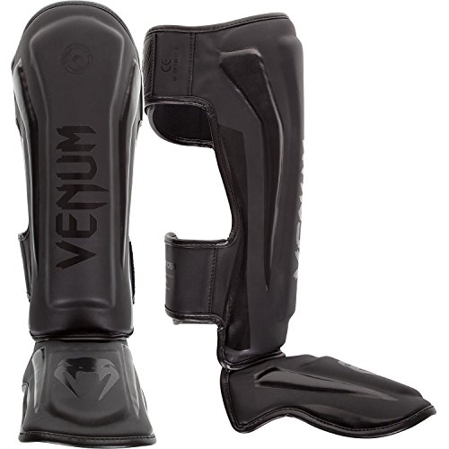 3611440218312 - VENUM ELITE STANDUP SHINGUARDS, MATTE/BLACK, MEDIUM