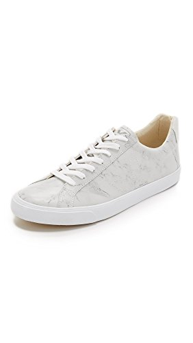 3611820261945 - VEJA MEN'S ESPLAR LEATHER SNEAKERS, MARBLE, 40 EU (7 D(M) US MEN)