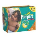 0037000512691 - BABY DRY SIZE 5 BABY DIAPERS ECONOMY PACK PLUS CHEAP 40 LB