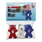 0037063003778 - ADAMS BUSINESS FORMS | ADAMS 3-PACK ALL-AMERICAN MAGNET MAN CLIP
