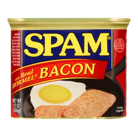 0037600336581 - CANNED MEAT WITH REAL HORMEL BACON