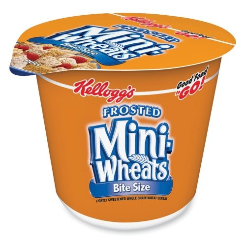 0038000427985 - 42799 BREAKFAST CEREAL FROSTED MINI WHEATS SINGLE-SERVE 6 CUPS BOX