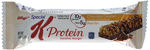 0038000563881 - KELLOGG'S SPECIAL K PROTEIN MEAL BAR, CHOCOLATE CARAMEL, 12.7 OUNCE (PACK OF 48)