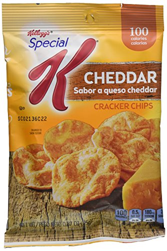 0038000757044 - KELLOGG'S SPECIAL K CRACKER CHIPS CHEDDAR, 31.3 OUNCE (PACK OF 36)
