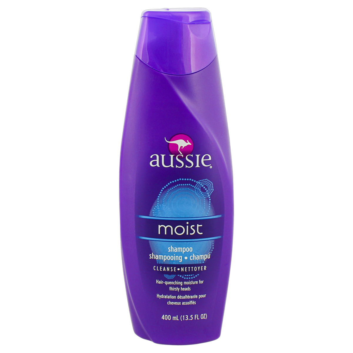 0381519022722 - SHAMPOO MOIST AUSSIE FRASCO 400ML