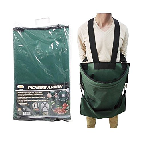 0039593308903 - IIT TOOLS LARGE POUCH FRUIT/VEGETABLE DURABLE NYLON HARVEST PICKING APRON
