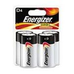 0039800039774 - D CELL ALKALINE BATTERY RETAIL PACK - 4-PACK