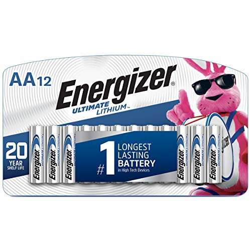 0039800130716 - ENERGIZER(R) PHOTO ULTIMATE LITHIUM AA BATTERIES, PACK OF 12