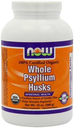 4003583088867 - NOW FOODS ORGANIC PSYLLIUM HUSK WHOLE, 12-OUNCE