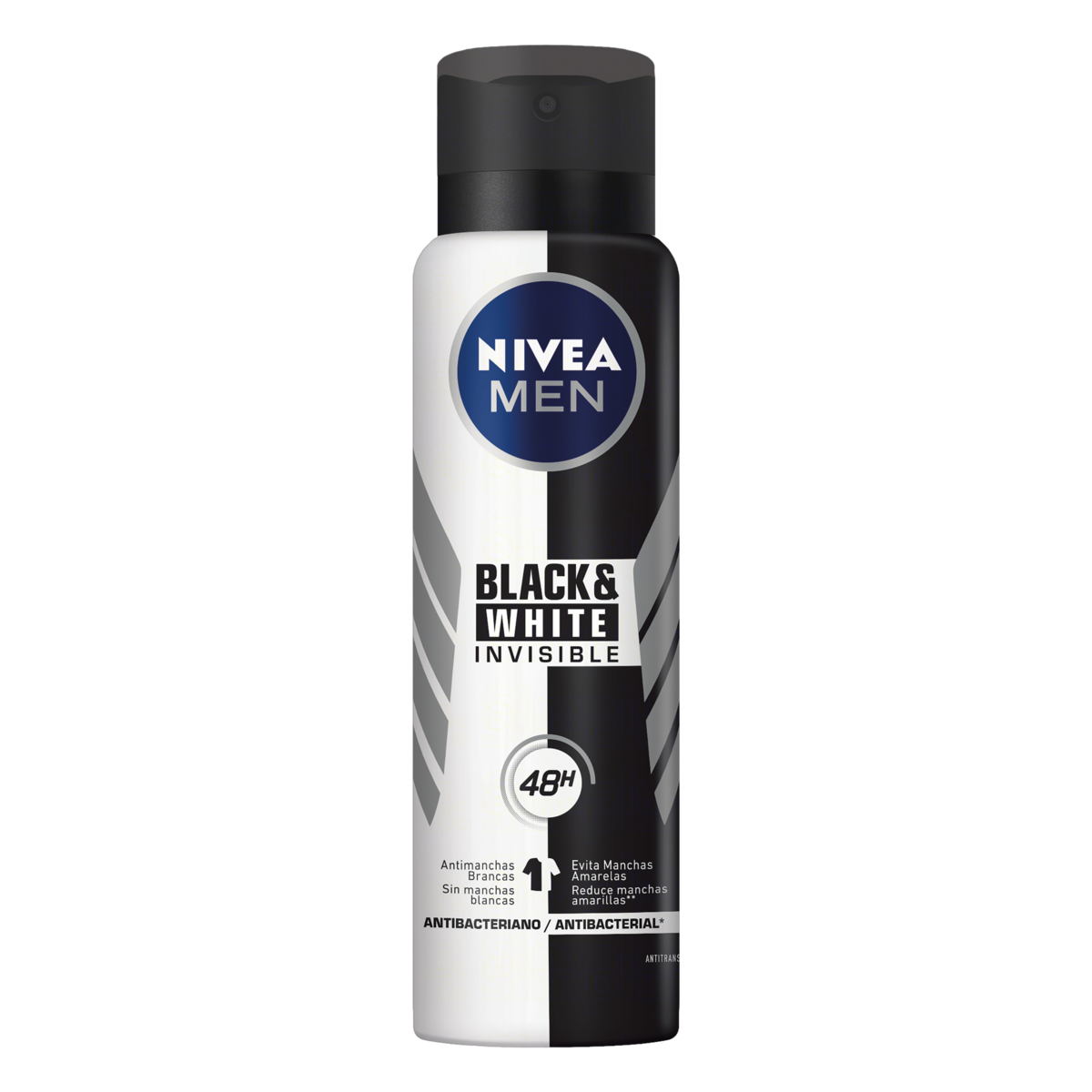 4005900036728 - ANTITRANSPIRANTE AEROSSOL NIVEA MEN INVISIBLE FOR BLACK & WHITE 150ML