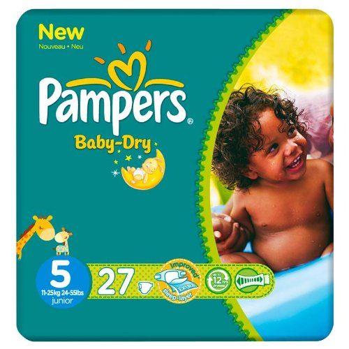 4015400417989 - 27X BABY DRY PAQUET T5 PAMPERS