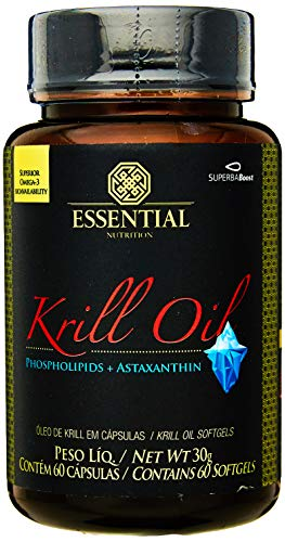 0040232940705 - KRILL OIL - 60 CÁPSULAS - ESSENTIAL NUTRITION, ESSENTIAL NUTRITION