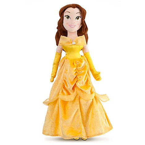 0412601217556 - DISNEY PRINCESS BEAUTY AND THE BEAST 20 INCH PLUSH DOLL BELLE