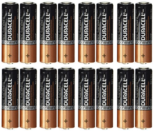 0041333000282 - DURACELL COPPERTOP AA ALKALINE 16 BATTERIES MN1500, PACKAGING MAY VARY