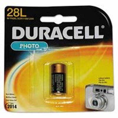 0041333128108 - DURACELL PHOTO 28L - BATTERY 1 COUNT (PACK OF 4) (PACKAGING MAY VARY)