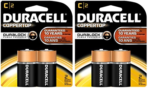 0041333214016 - DURACELL COPPERTOP C BATTERIES, 2CT, 2PK
