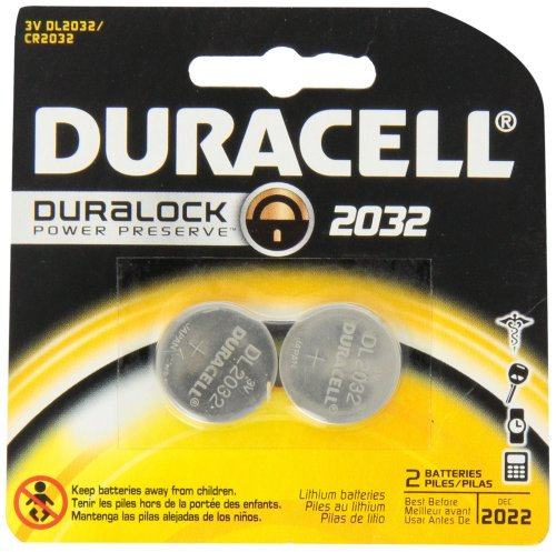 0041333542102 - DURACELL 2032 MEDICAL BATTERY 2 COUNT (PACK OF 6)