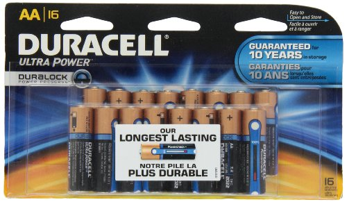 0041333657912 - DURACELL ULTRA POWER AA BATTERIES 16 COUNT