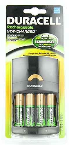 0041333661124 - DURACELL NIMH 1000 RECHARGEABLE, 4AA