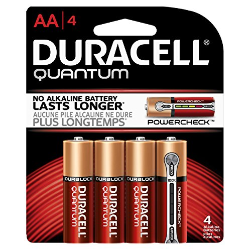 "0041333662176 - DURACELL ""AA"" ALKALINE BATTERIES WITH POWER PRESERVE TECHNOLOGY 4 PACK"