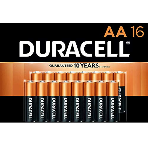 0041333704647 - DURACELL 16 PACK AA BATTERIES