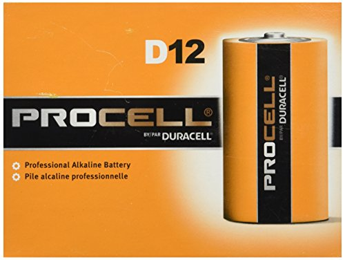 0041333853956 - DURACELL D12 PROCELL PROFESSIONAL ALKALINE BATTERY, 12 COUNT