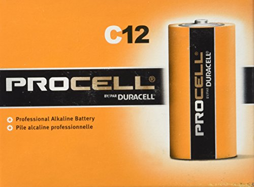 0041333854953 - PROCELL SIZE C ALKALINE BATTERY (PC1400) - 12 PACK