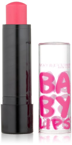 0041554411690 - MAYBELLINE NEW YORK BABY LIPS BALM ELECTRO, PINK SHOCK, 0.15 OUNCE