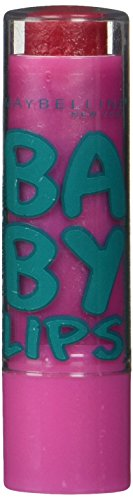 0041554445527 - MAYBELLINE NEW YORK BABY LIPS BALM LIMITED EDITION, RUBY STAR, 0.15 OUNCE