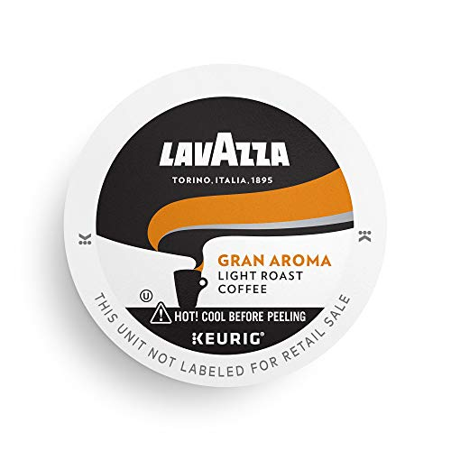 0041953002161 - LAVAZZA LAVAZZA GRAN AROMA SINGLE-SERVE COFFEE K-CUP PODS FOR KEURIG BREWER, LIGHT ROAST, 32-COUNT BOX, GRAN AROMA, 32 COUNT
