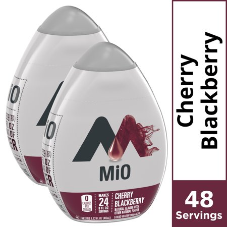 0043000005552 - MIO CHERRY BLACKBERRY LIQUID WATER ENHANCER, 1.62 FLUID OUNCE -- 12 PER CASE.