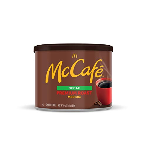 0043000079737 - MCCAFE PREMIUM ROAST DECAF, MEDIUM ROAST GROUND COFFEE, 24 OZ CANISTER