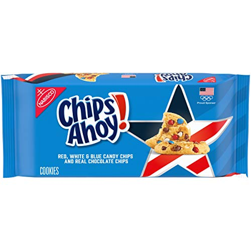 0044000064112 - TEAM USA CHIPS AHOY! CHOCOLATE CHIP COOKIES, LIMITED EDITION, 1 PACK (11.75 OZ.)