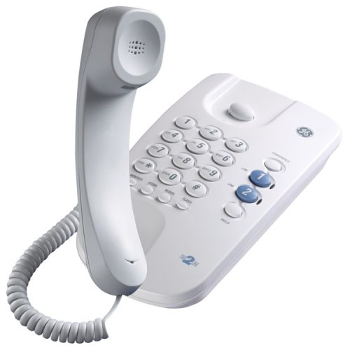 0044319101553 - GE 29480GE1 2-LINE CORDED TELEPHONE WITH 3-WAY CALL CONFERENCING